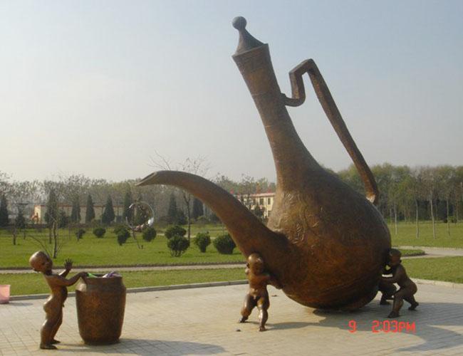 ②主题性雕塑.