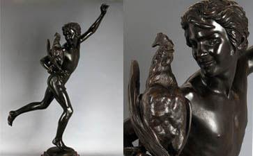 铜雕工艺品